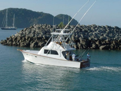 Charter Fishing Boats 38 Herradura Bay